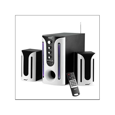 Ampex AX682BT - 2.1 Channel Home Theater System - 10000W - Black
