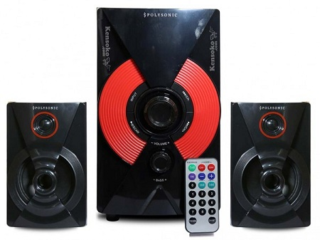 Polysonic Mp 74 multimedia speaker 2.1 Polysonic