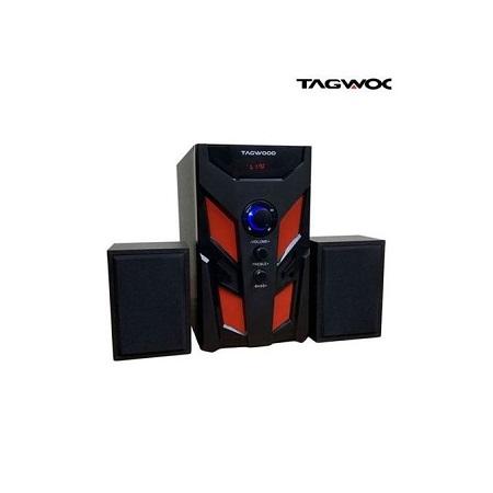 TAGWOOD LS-521B Multimedia Speaker System with Bluetooth