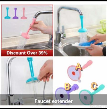 Kitchen Faucet Splash Filter Tap