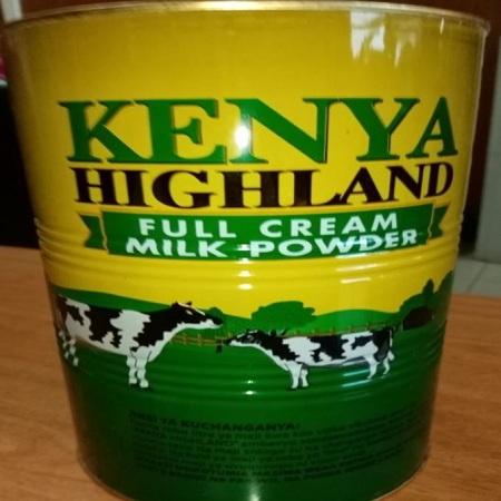 Kenya Highland Powder Milk - 2kg Tin,