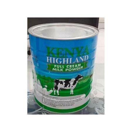 Kenya Highland Powder Milk, Full Cream - 900gms, 12pcs X 900gms