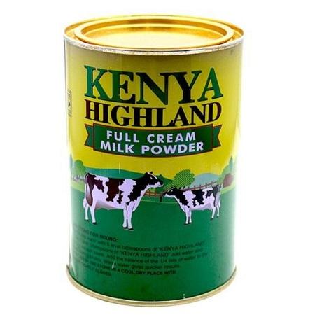 Kenya Highland Powder Milk, Full Cream - 900gms, 6pcs X 2kg