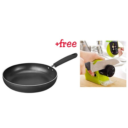 Frying Pan with a FREE Knife Sharpener