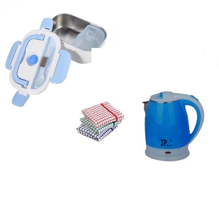 Jamespot Electric Kettle with an Electric Lunch Box