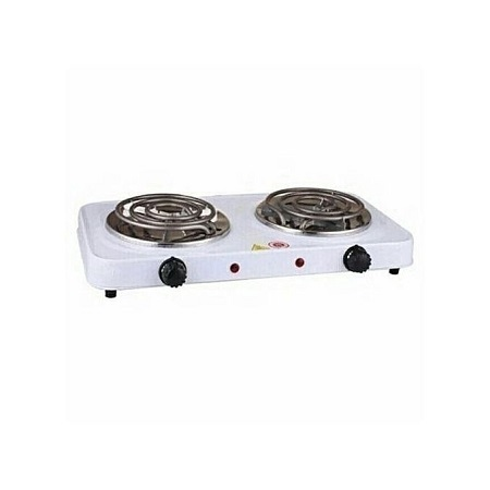 Modern Double Electric Hotplate
