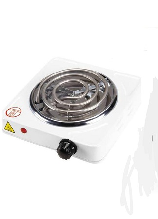 Modern Single Coiled Electric Hot Plate