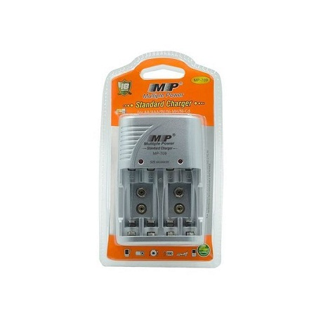 Multiple Power MP 709 Standard Charger 4 Slots For AA AAA 9V