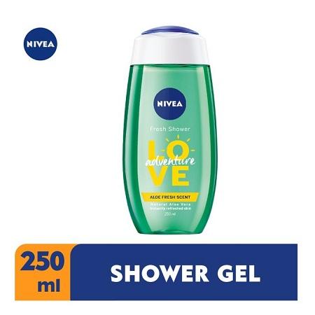 Nivea Fresh Aloe Shower Gel for Women - 250ml