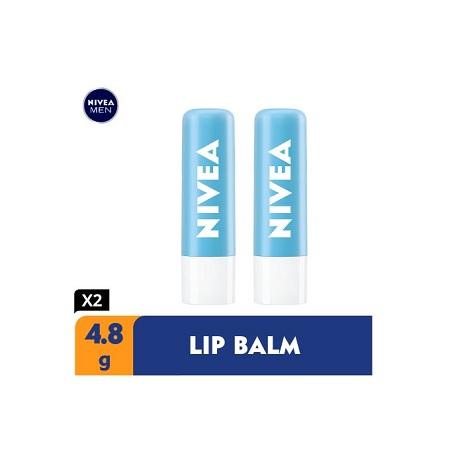 Nivea Hydro Care Lip Balm - 4.8g (Pack Of 2)