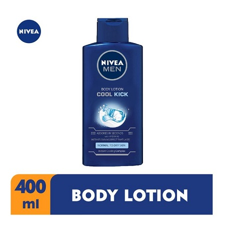 Nivea Men Cool Kick Body Lotion For Men - 400ml