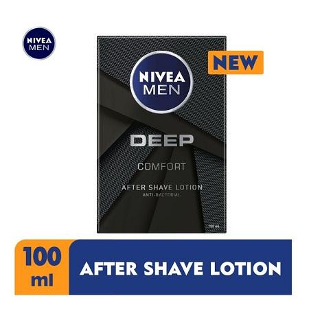 Nivea Men Deep After Shave Lotion For Men - 100ml