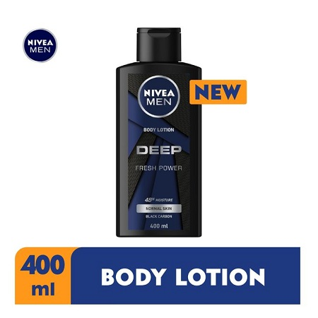 Nivea Men Deep Body Lotion For Men - 400ml