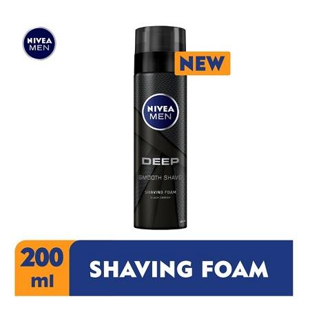Nivea Men Deep Shaving Foam For Men - 200ml