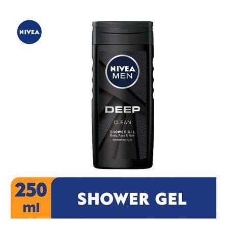 Nivea Men Deep Shower Gel For Men - 250ml