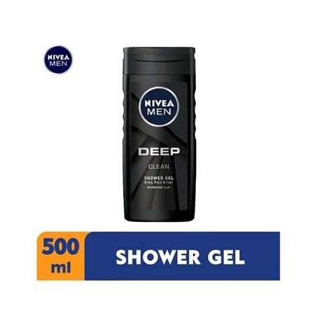 Nivea Men Deep Shower Gel For Men - 500ml