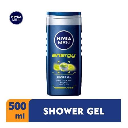 Nivea Men Energy Shower Gel For Men - 500ml