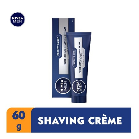 Nivea Men Protect & Care Protecting Shaving Cream For Men - 60g