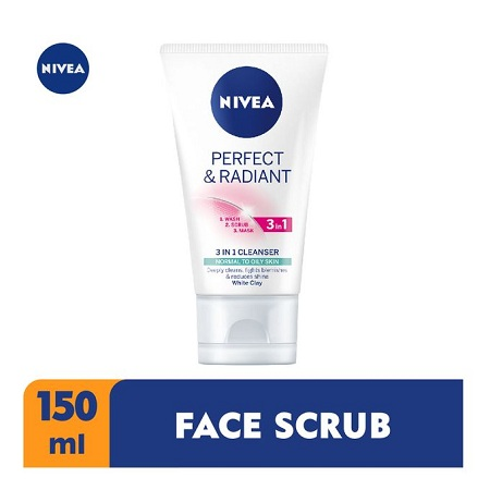 Nivea Perfect & Radiant 3 In 1 Cleanser For Women - 150ml
