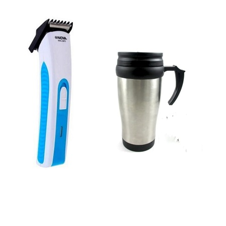 Nova Hair Trimmer plus a FREE Travelling Mug