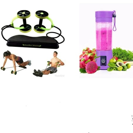 Revoflex Xtreme Total Body Fitness with a free Portable Blender