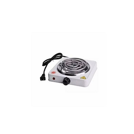 Single Hot Plate Cooker - White