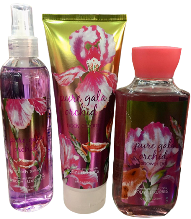 Signature Collection Pure Gala Orchid 3-in-1 Set