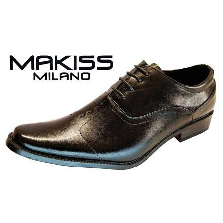 Milano Men Official Shoes/2977-1 (BLACK)