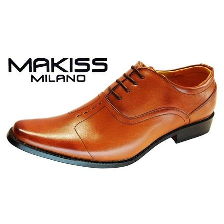 Milano Men Official Shoes/2977-1 (TAN)
