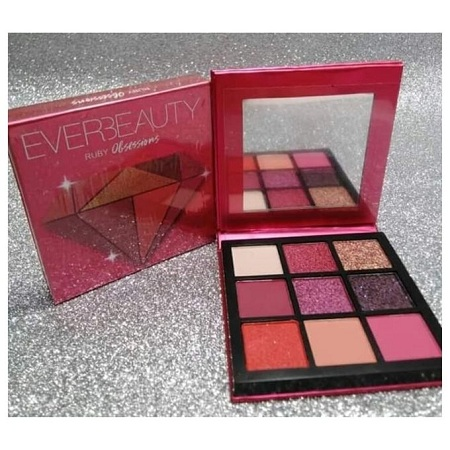 Ruby EverBeauty Eyeshadow Palette Ruby Obsessions