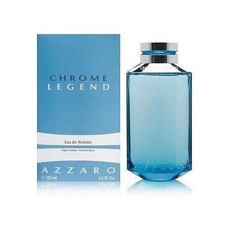 Chrome Legend by Azzaro for Men  Eau de Toilette, 125ml 