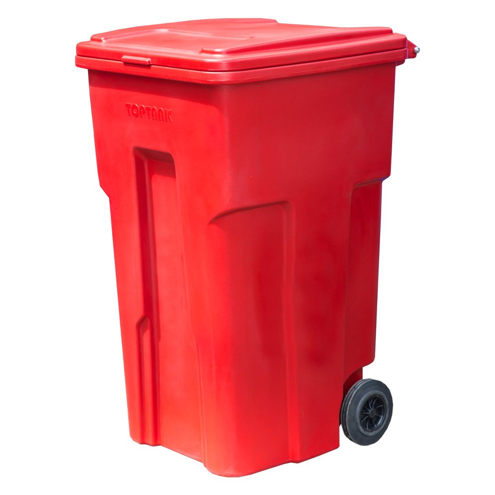 Garbage Bin with Wheels 180 Lts