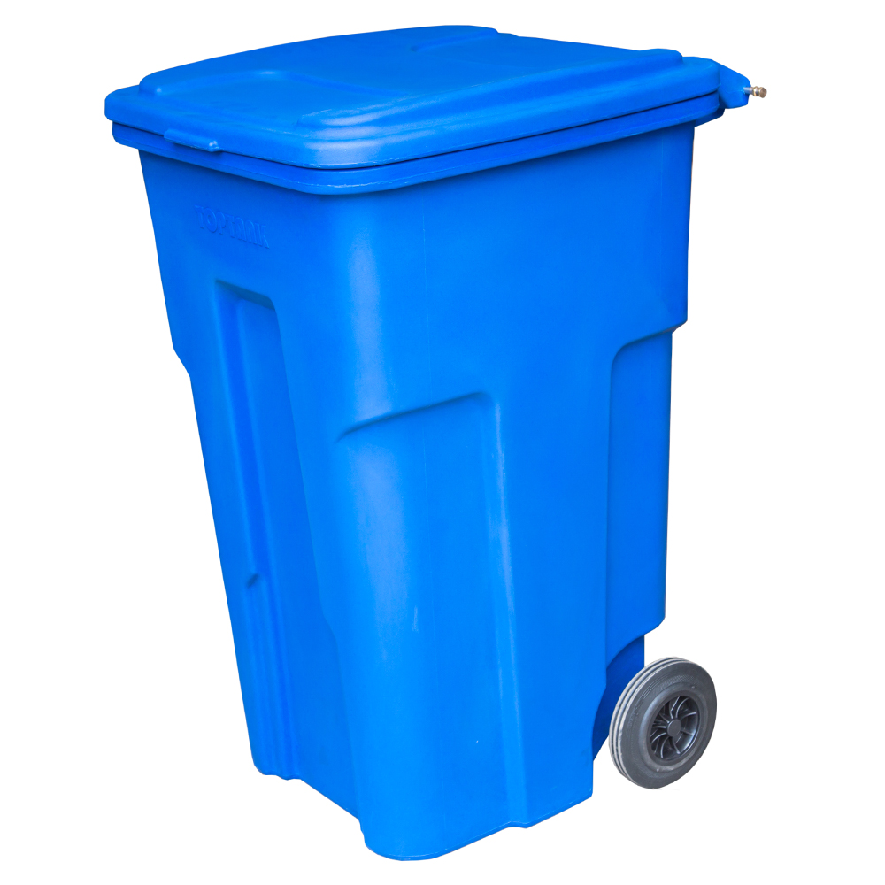 Garbage Bin with Wheels 120 Lts