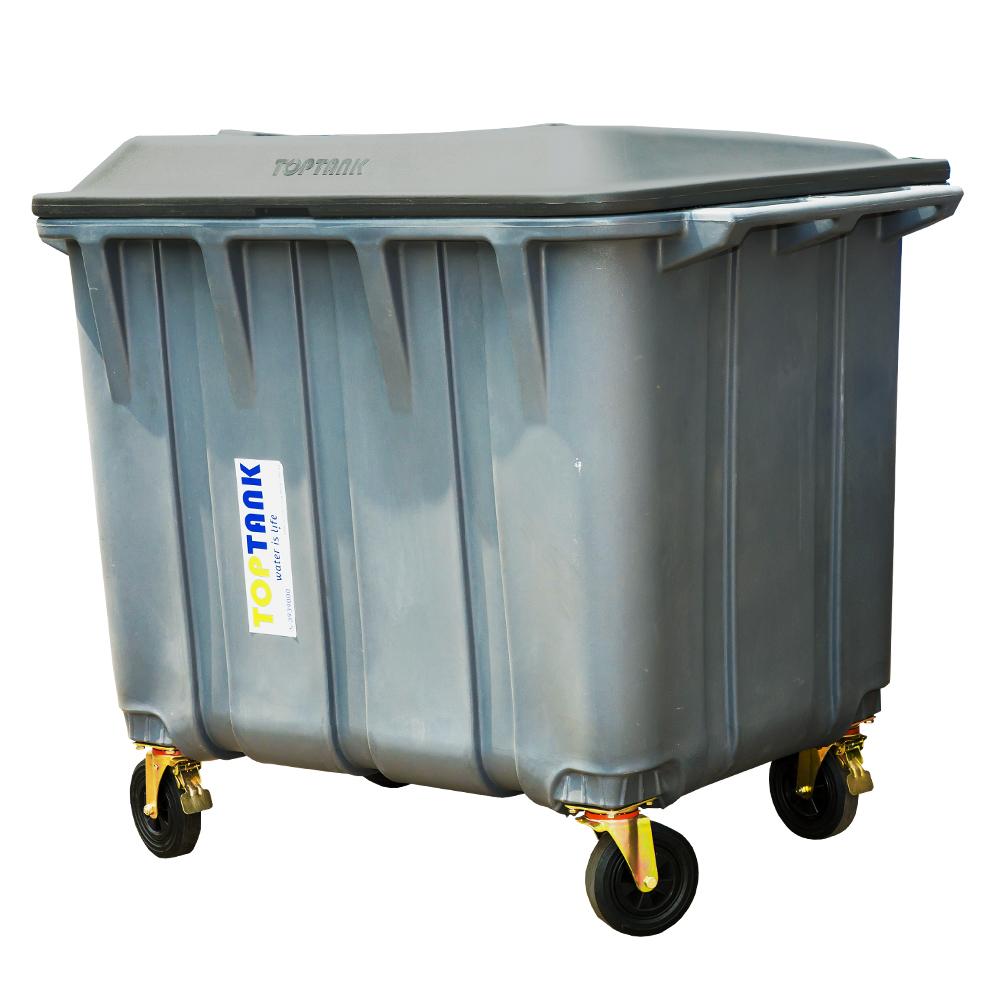 Garbage Bin with Wheels 750Lts