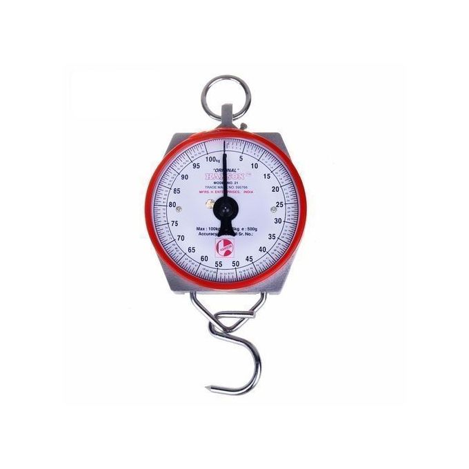 Heavy Duty Portable With Temp, 100Kg Weighing Scale