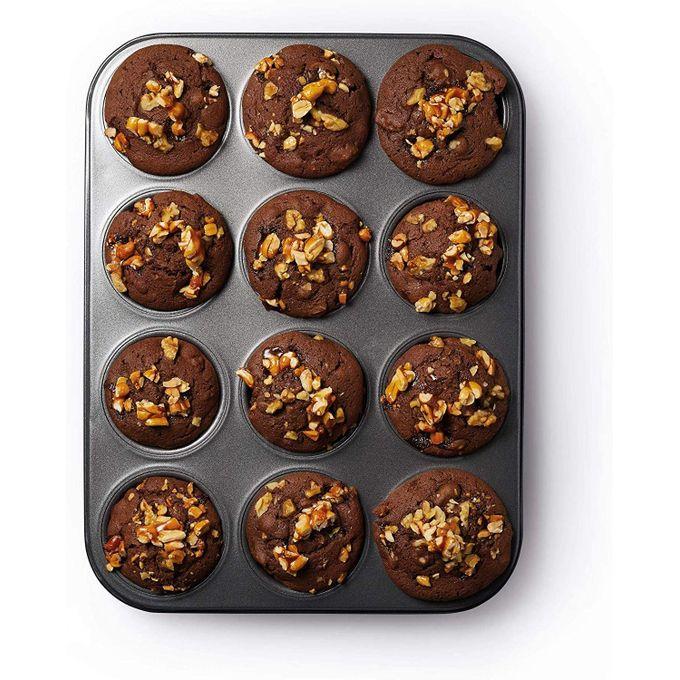 Generic 12 Holes Cupcake Baking Tins