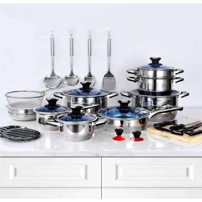 Marwa German Life 30pcs Stainless Cookware Set