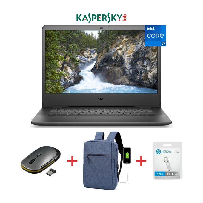 DELL Vostro 3500-15.6-11th Gen Intel Core I7-512GB SSD-8GB RAM-Windows 10-Black+Bag+Mouse