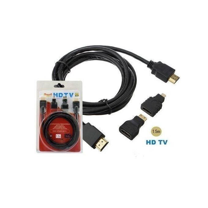 1.5m 3-in-1 HDMI