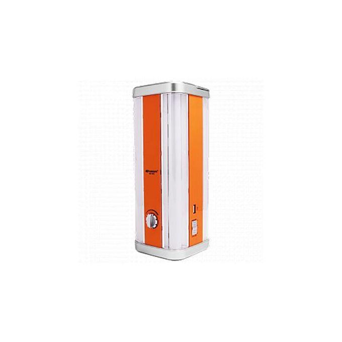 Kamisafe 4 Corners Rechargeable LED Emergency Lamp