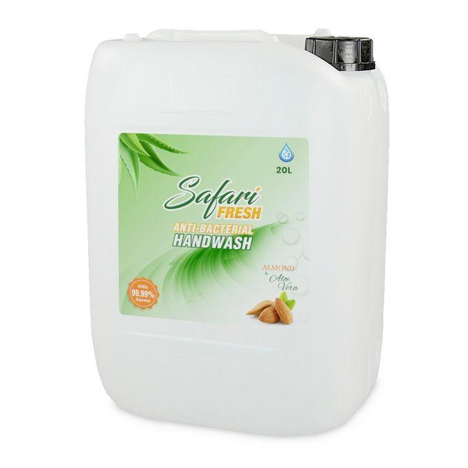 Safari Fresh Almond+AloeVera Liquid Hand Wash (20L)