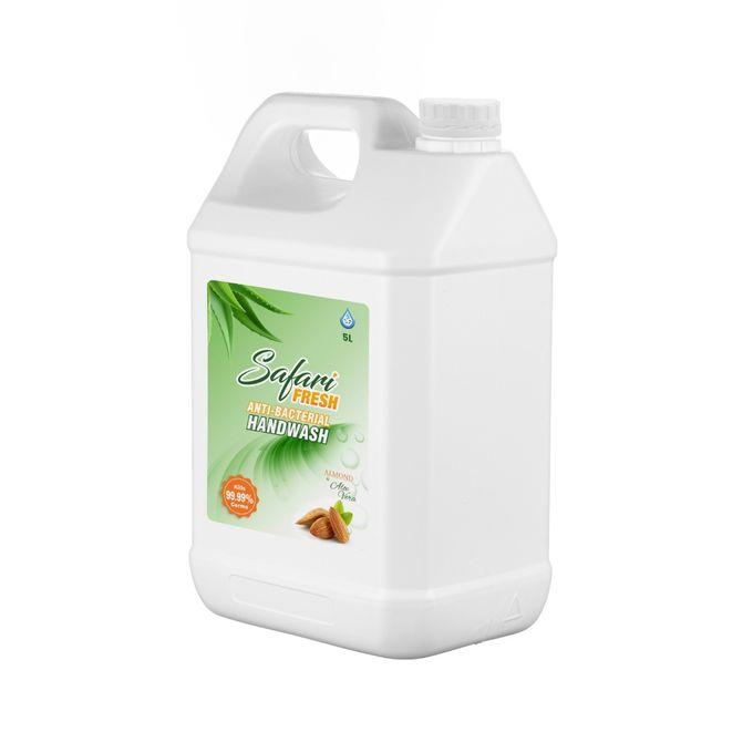 Safari Fresh Almond+AloeVera Liquid Hand Wash 5L