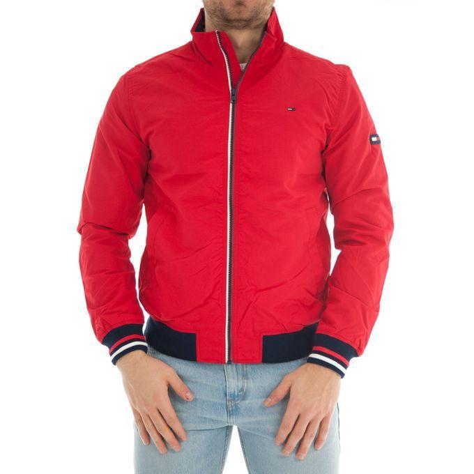 Fashion Fashionable Bomber Jacket-red