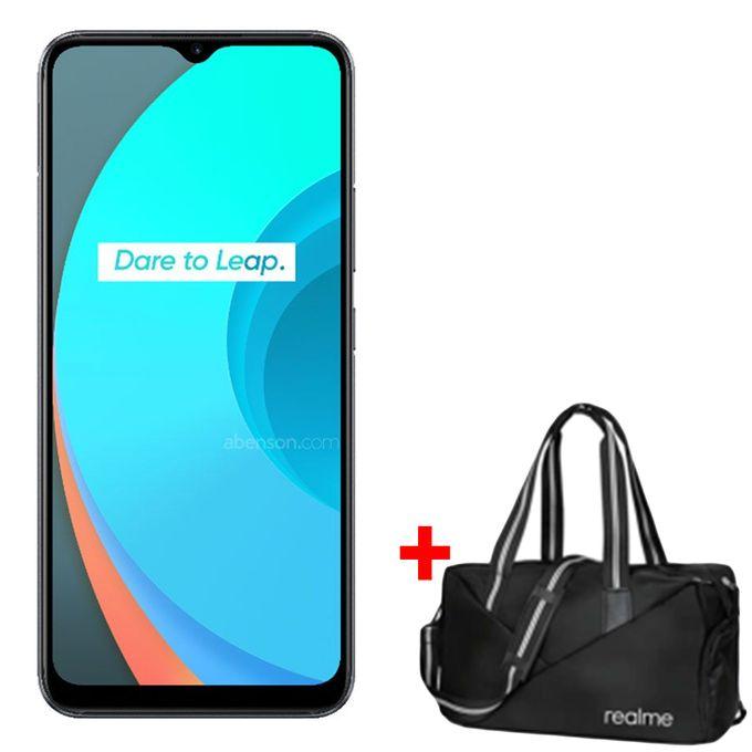 Realme C11, 6.5'', 2GB + 32GB (Dual SIM) - 5000mah - Pepper Grey + Free Gift Bag