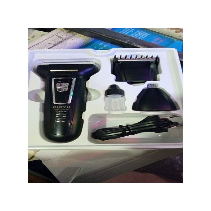 Chiyu 3 In 1 Rechargale Hair Clippers, Shaver And Nose Trimmer