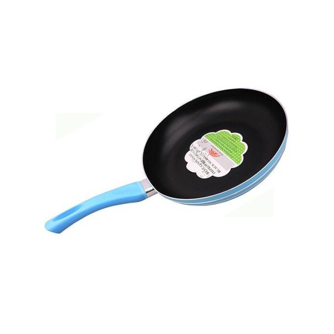 Sundabest Nonstick Deep Frying Pan/Pancake Pan-26cm + 3 Silver Spoon