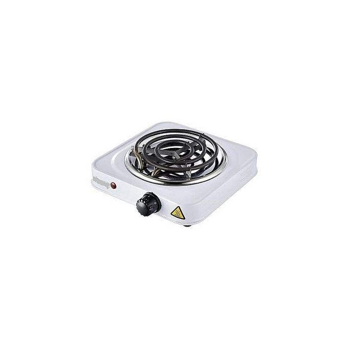 Electric cooker / Single Sprial Hotplate single coil white white