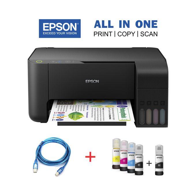HP DeskJet 2320 Printer- Plug&Print, Copy&Scan -White