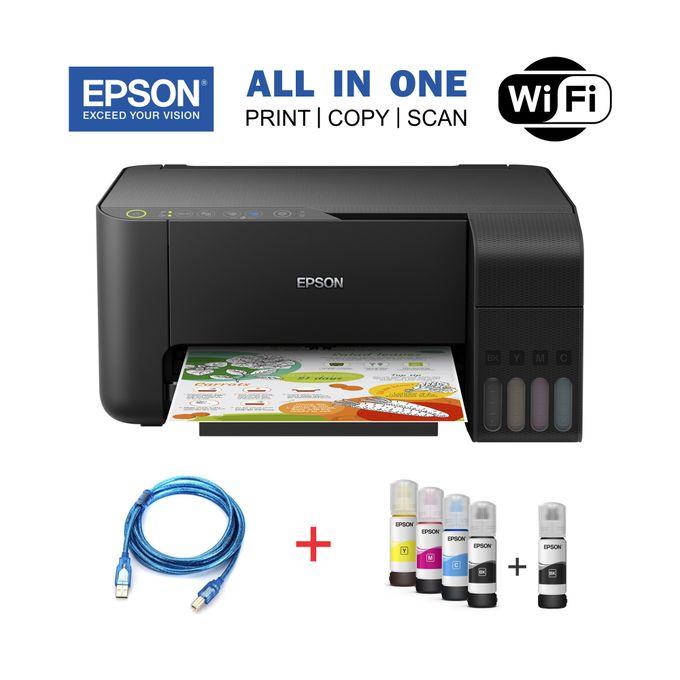 Epson EcoTank L3150-ALL IN ONE (Print,Copy,Scan) Printer