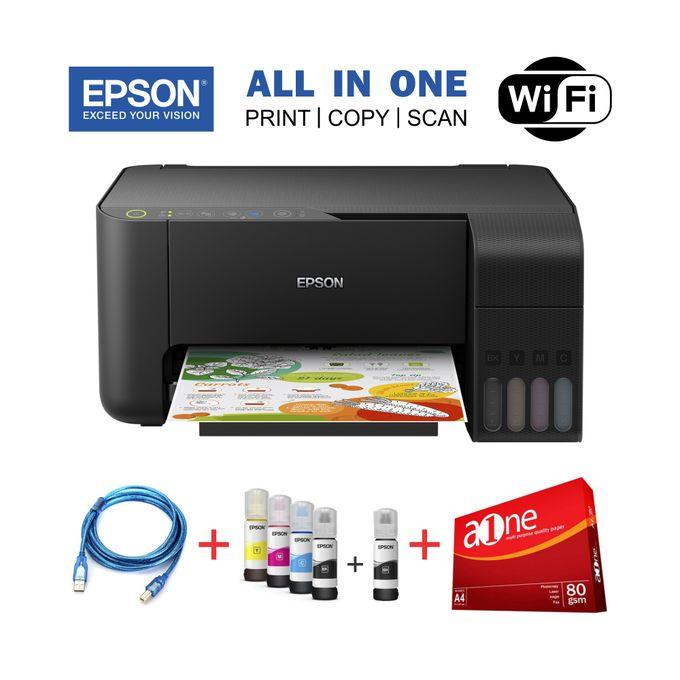 Epson EcoTank L3150-ALL IN ONE (Print,Copy,Scan)+Rim